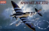 ACADEMY 1/48 Supermarine Spitfire MkXIVc