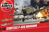 AIRFIX 1/48 Curtiss P40B Warhawk