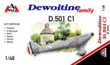 AMG 1/48 Dewoitine D501C1