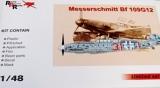 AMG 1/48 Messerschmitt Bf109G12