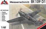 AMG 1/48 Messerschmitt Bf109D1