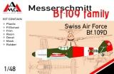 AMG 1/48 Messerschmitt Bf109D Suisse