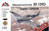 AMG 1/72 Messerschmitt Bf109D Legion Condor