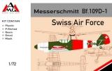 AMG 1/72 Messerschmitt Bf109D Suisse