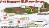 AML 1/72 Curtiss P40B Europe