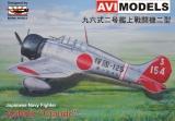 AVI-Models 1/72 Mitsubushi A5M2b