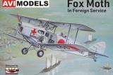 AVI-Models 1/72 De Havilland Fox Moth export
