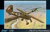 AZUR 1/72 PZL P11c