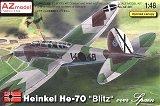 """AZ-MODELS 1/48 Heinkel He70 """"Guerre d'Espagne"""""""
