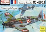 AZ-MODELS 1/48 Morane-Saulnier MS406C1
