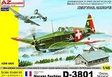 AZ-MODELS 1/48 Morane-Saulnier D-3801