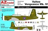 AZ-MODELS 1/48 Vultee Vengeance MkIV