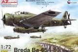 AZ-MODELS 1/72 Breda Ba65 Guerre d'Espagne