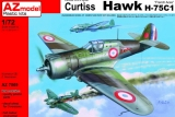 AZ-MODELS 1/72 Curtiss H75C1
