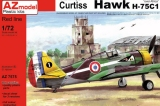 "AZ-MODELS 1/72 Curtiss H75C1 ""Afrique"""