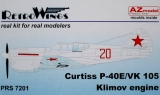 AZ-MODELS 1/72 Curtiss P40E VK105