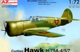 AZ-MODELS 1/72 Curtiss H75A4/A5/A7 Pays-Bas
