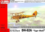 AZ-MODELS 1/72 De Havilland DH82A Tiger-Moth RAF