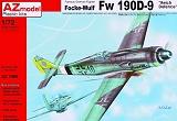 AZ-MODELS 1/72 Focke-Wulf Fw190D9 Défense du Reich