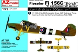 AZ-MODELS 1/72 Fieseler Fi156C1 capturé