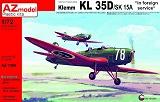 AZ-MODELS 1/72 Klemm Kl35D export