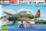 AZ-MODELS 1/72 Mitsubishi Ki30 Thaïlande
