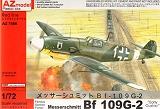 AZ-MODELS 1/72 Messerschmitt Bf109G2