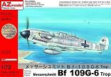 AZ-MODELS 1/72 Messerschmitt Bf109G6/trop