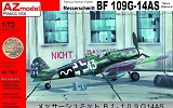 AZ-MODELS 1/72 Messerschmitt Bf109G14/AS
