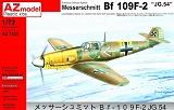 AZ-MODELS 1/72 Messerschmitt Bf109F2 JG54