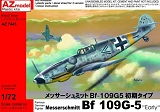 AZ-MODELS 1/72 Messerschmitt Bf109G5 early