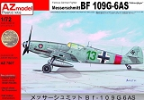AZ-MODELS 1/72 Messerschmitt Bf109G6/AS Höhenjäger