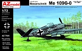 AZ-MODELS 1/72 Messerschmitt Bf109G0 V-tail