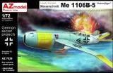 AZ-MODELS 1/72 Messerschmitt Me1106B5