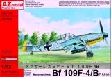 AZ-MODELS 1/72 Messerschmitt Bf109F4/B
