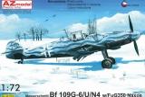 AZ-MODELS 1/72 Messerschmitt Bf109G6U/N4