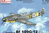 AZ-MODELS 1/72 Messerschmitt Bf109G12 (base G4)