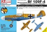 AZ-MODELS 1/72 Messerschmitt Bf109F4 H-J Marseille