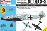 AZ-MODELS 1/72 Messerschmitt Bf109G6 Wilde Sau