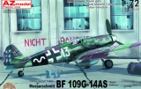 AZ-MODELS 1/72 Messerschmitt Bf109G14/AS Défense du Reich