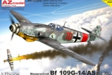 AZ-MODELS 1/72 Messerschmitt Bf109G14/AS JG300