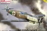 AZ-MODELS 1/72 Messerschmitt Bf109G14/AS Défense du Reich