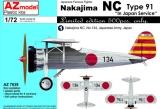 AZ-MODELS 1/72 Nakajima NC type 91