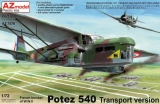 AZ-MODELS 1/72 Potez 540 transport