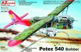 AZ-MODELS 1/72 Potez 540 bombardier