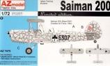 AZ-MODELS 1/72 Saiman 200