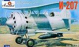 A-MODEL 1/72 Borovkov-Florov I-207