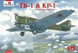 A-MODEL 1/72 Tupolev TB1+KP1