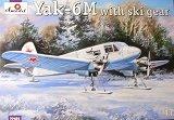 A-MODEL 1/72 Yakovlev YaK6M avec skis
