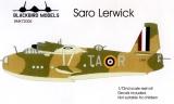 BLACKBIRD 1/72 SaRo Lerwick